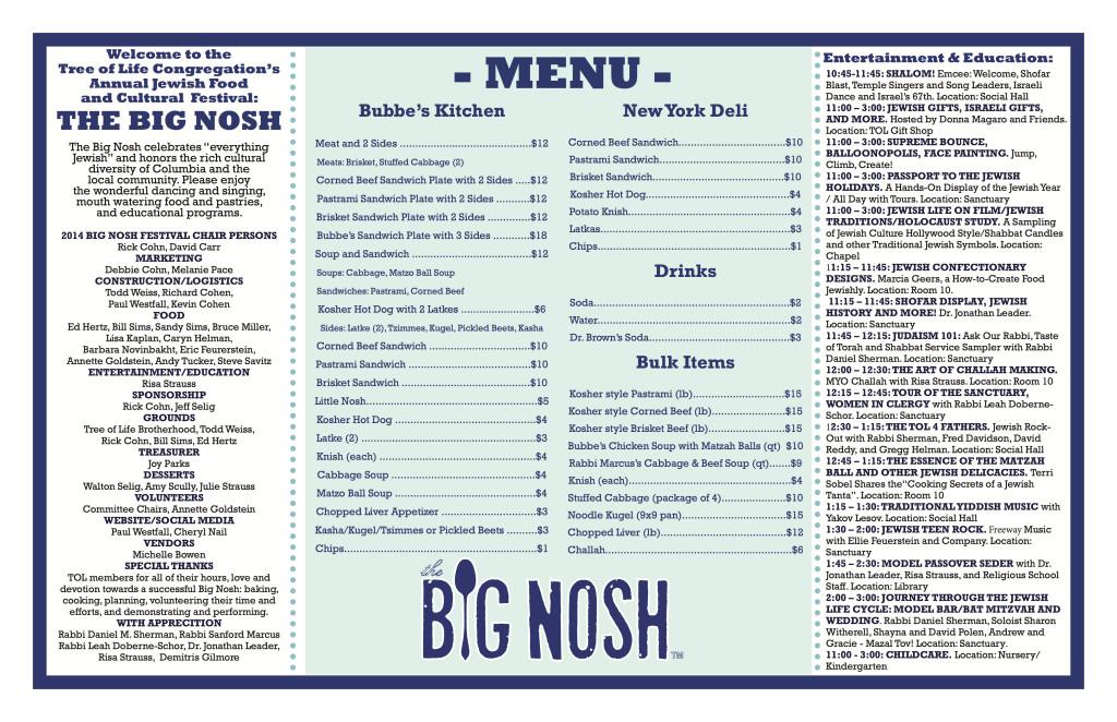 Big Nosh Program -FNL